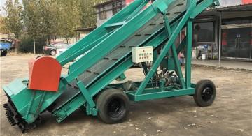 青贮饲料取料机 升降平台 移动式取料机