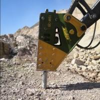 连港工兵破碎锤165毫米型号YSW-35挖机矿山开采好助手